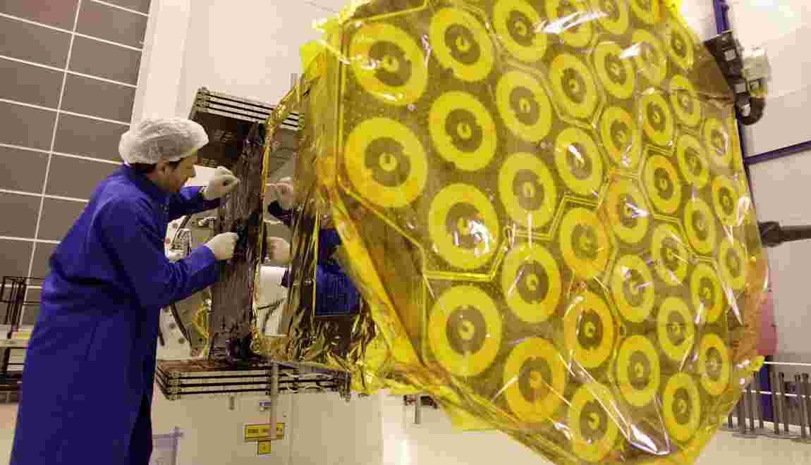 Galileo: signature d'un contrat pour 8 nouveaux satellites