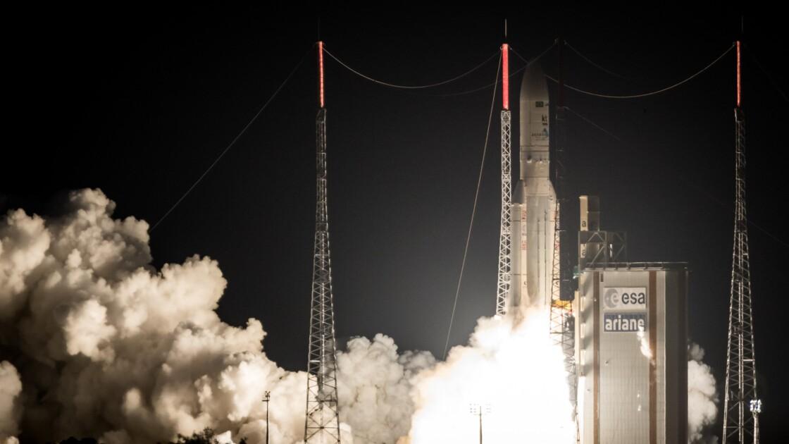 Ariane 5 lance jeudi deux satellites de télécommunication