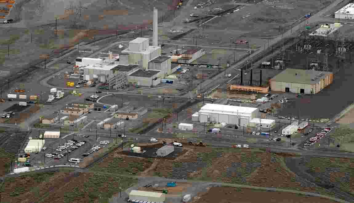 USA: Début des réparations du tunnel effondré sur un site nucléaire