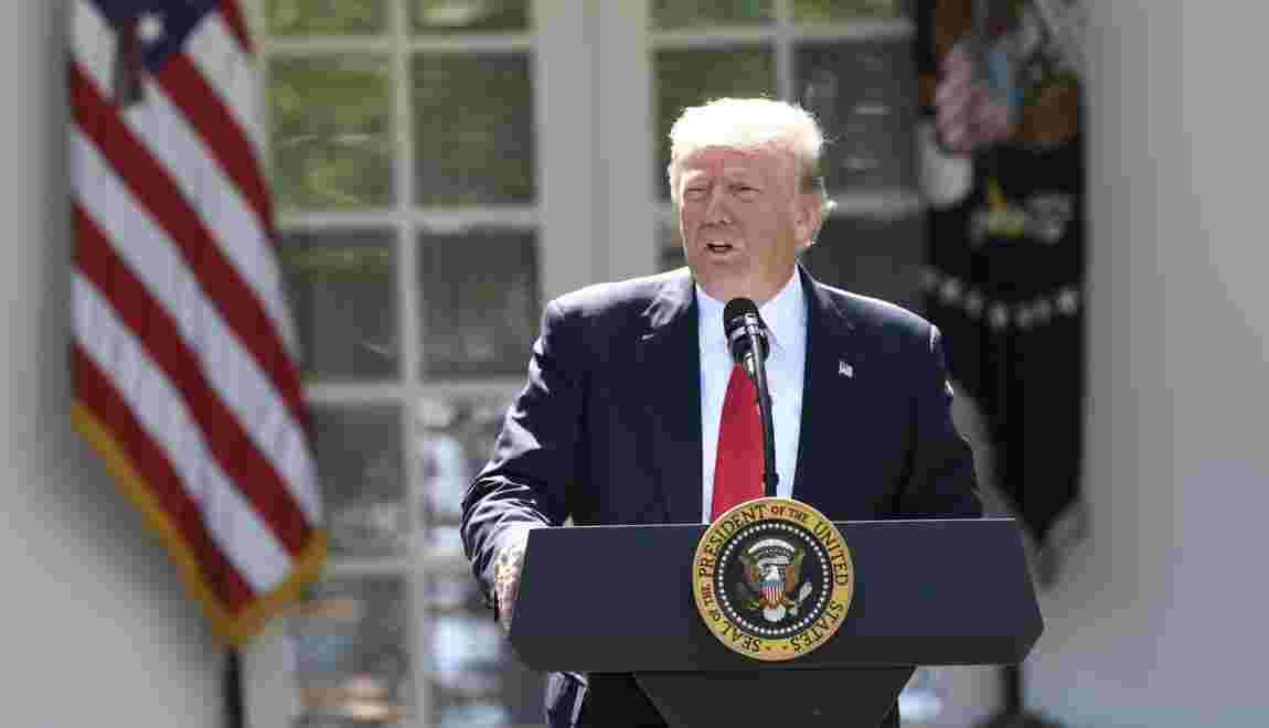 Les Etats-Unis sortent de l'accord climat, annonce Trump