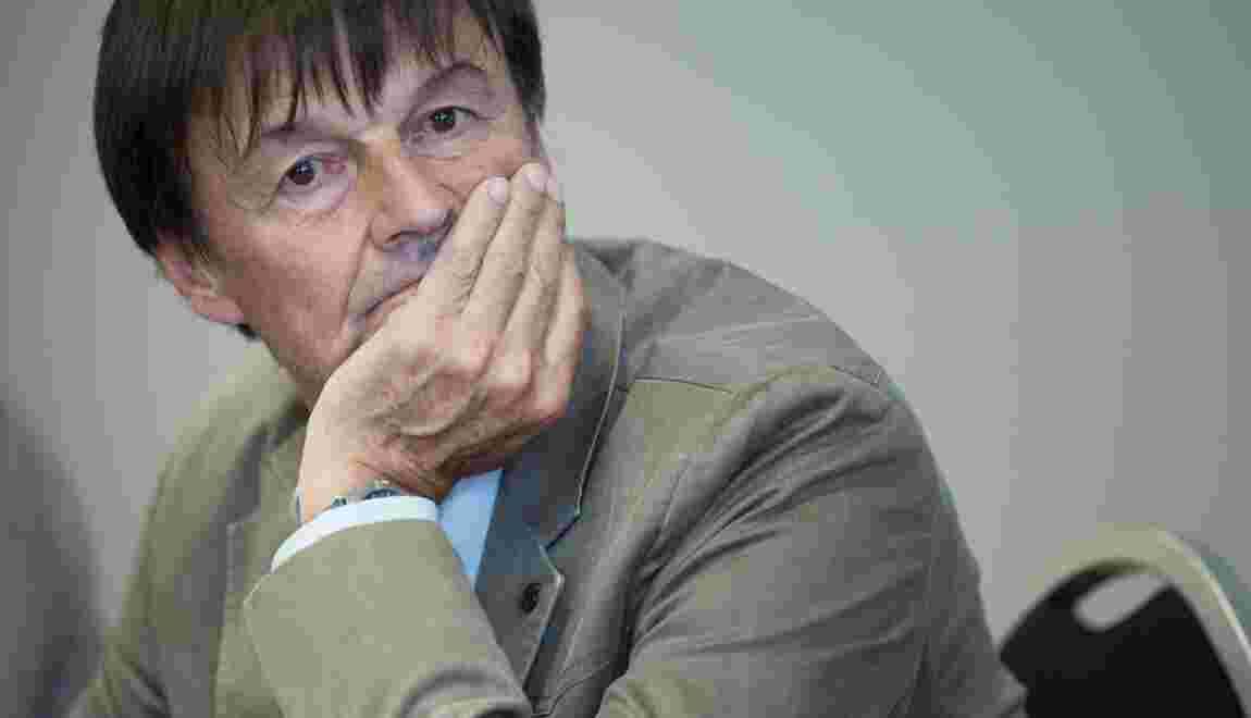 """Nicolas Hulot sort de son silence dans """"L'Emission politique"""""""