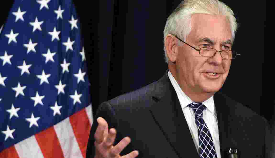 Climat: Washington va continuer à réduire ses émissions de gaz, selon Tillerson