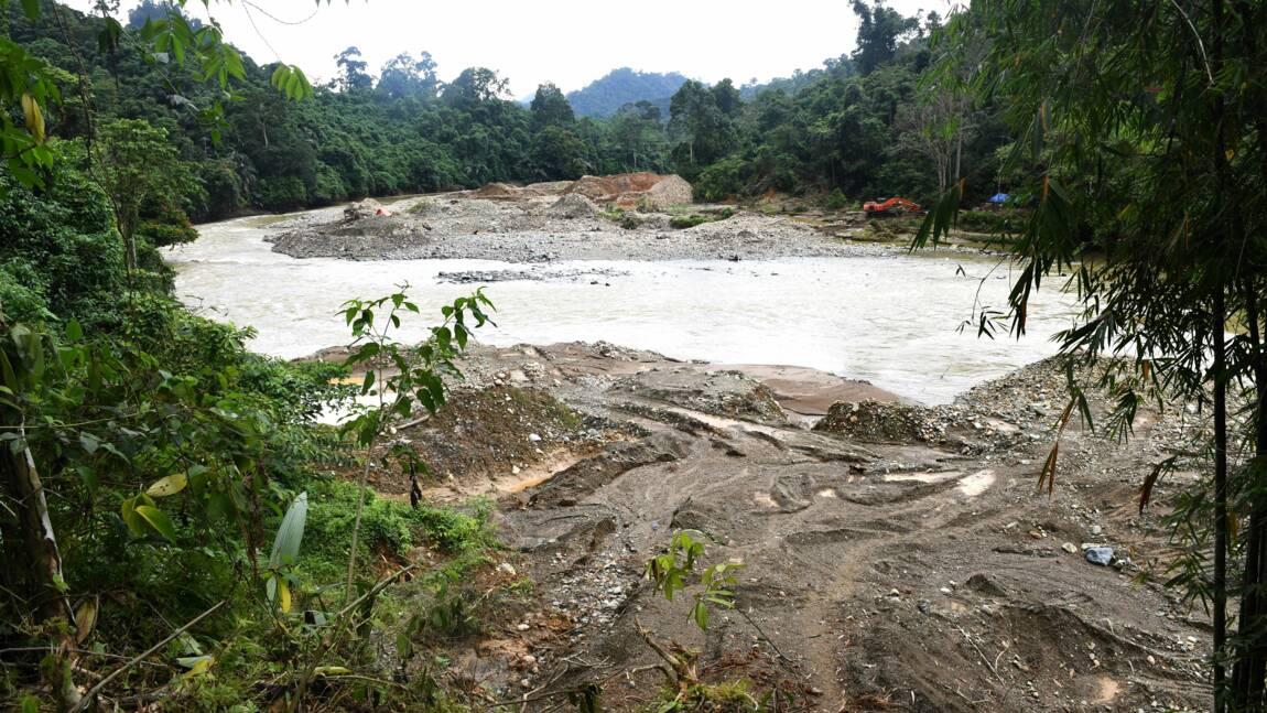 En Indonésie, les ravages des mines d'or clandestines