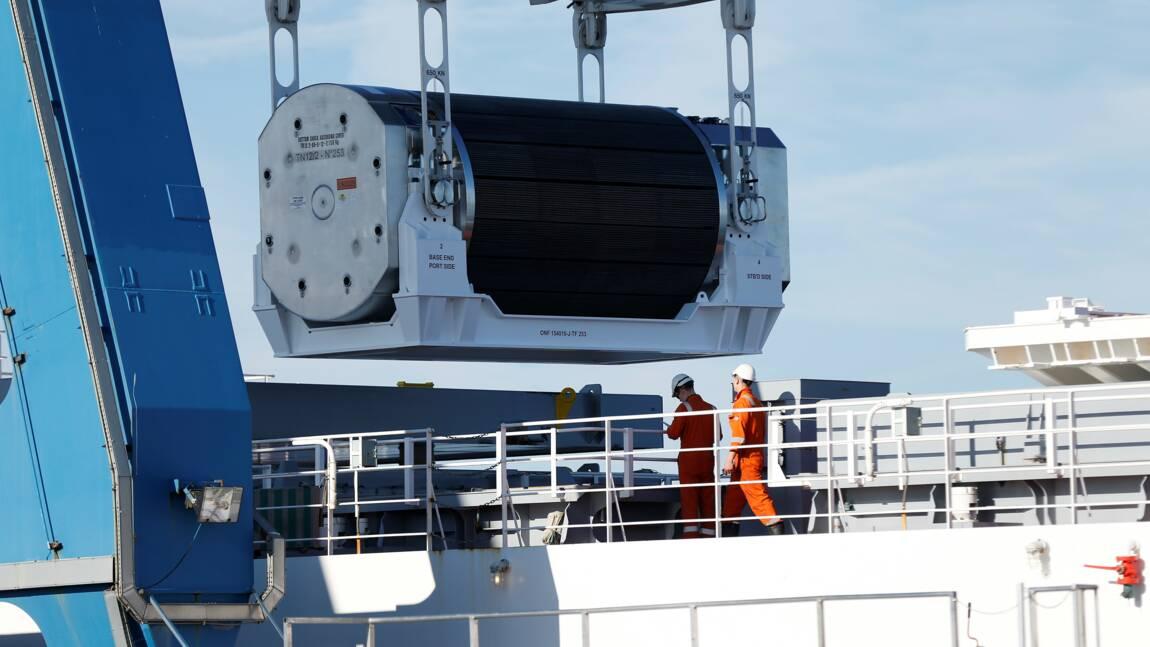 Des combustibles au plutonium quittent Cherbourg pour le Japon