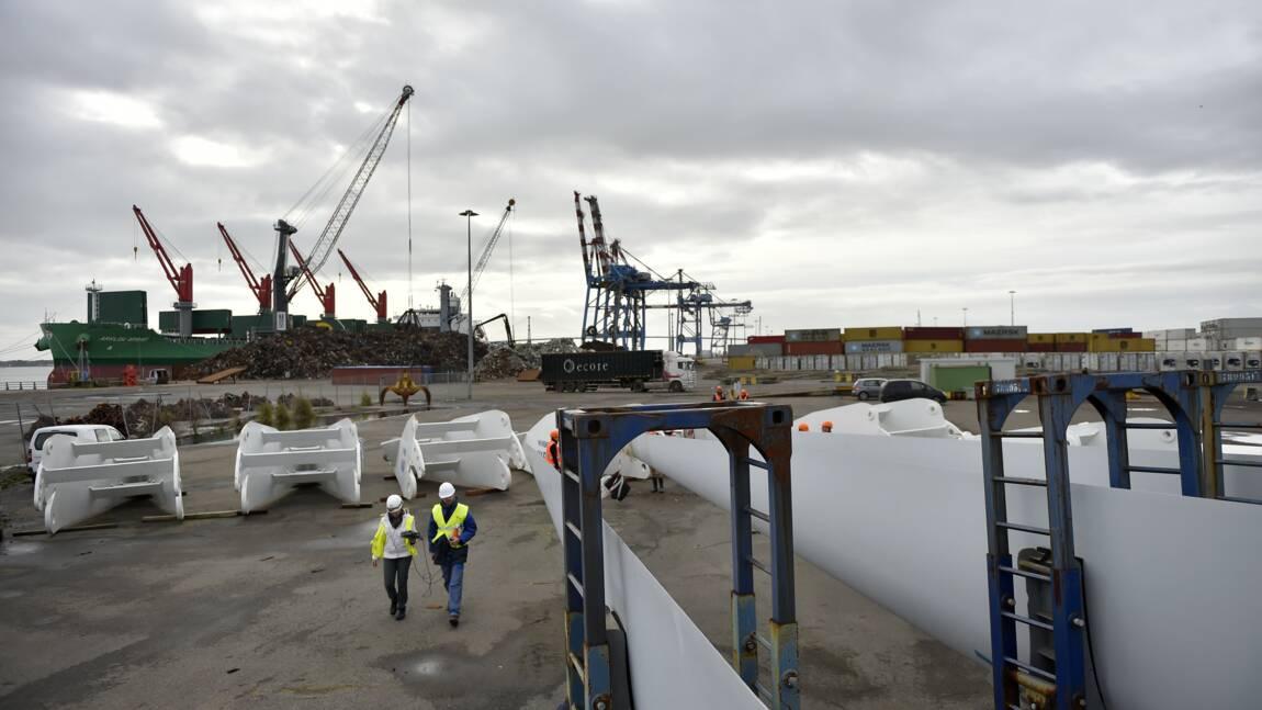 Eolien en mer: la justice examine un recours contre un parc au large de Saint-Nazaire