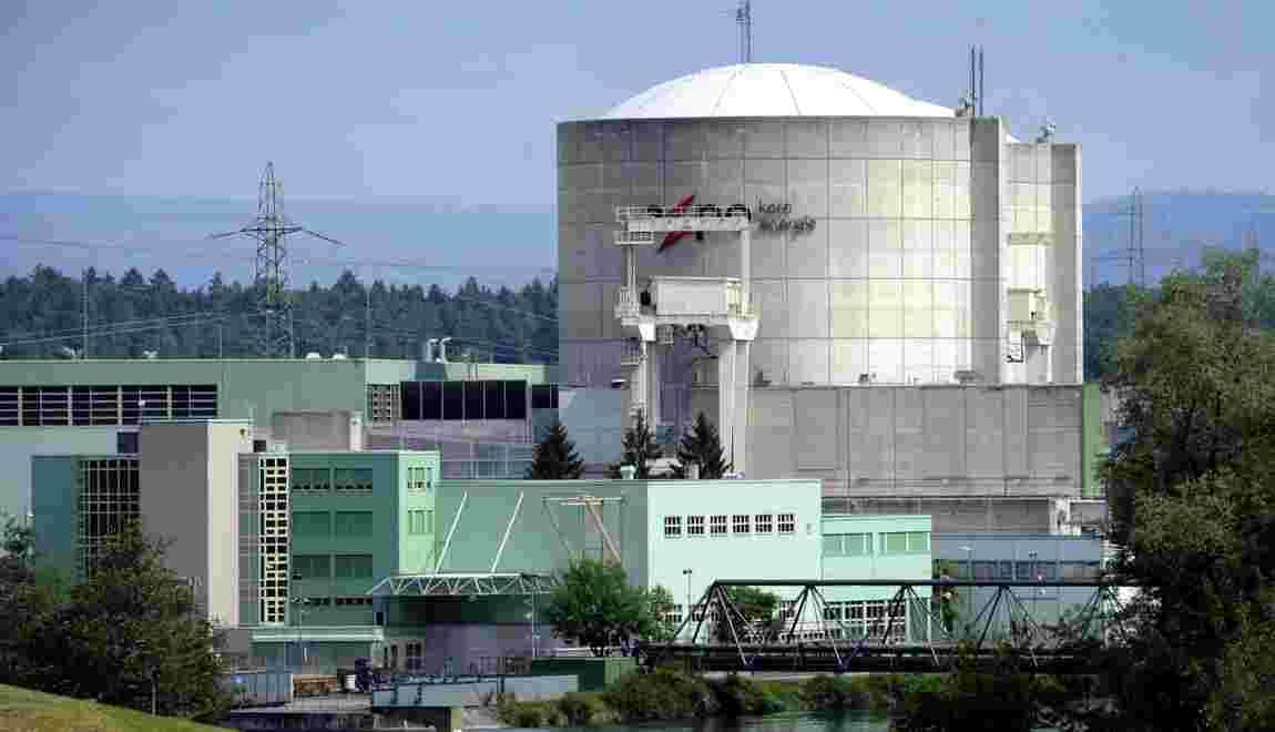 Suisse: la plus vieille centrale nucléaire du monde redémarre son 1er réacteur