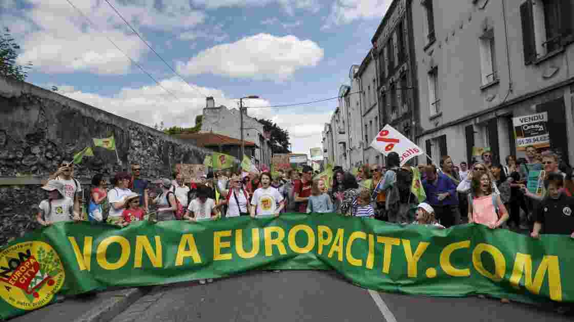 Face aux turbulences, le mégaprojet Europacity veut garder son cap