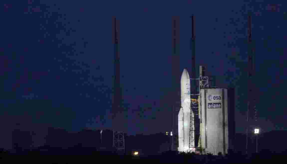 Le 5ème tir de l'année d'Ariane 5 annulé in extremis