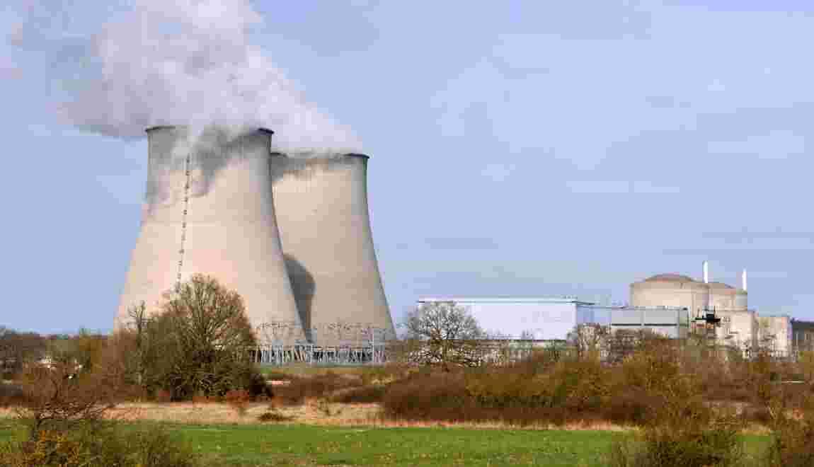 """Nucléaire: pas de """"risque imminent"""" à la centrale de Belleville-sur-Loire"""