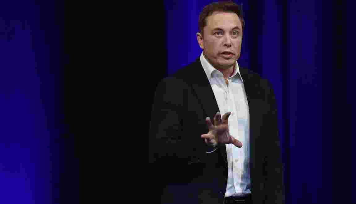 Elon Musk dévoile son ambition d'aller sur Mars en 2022