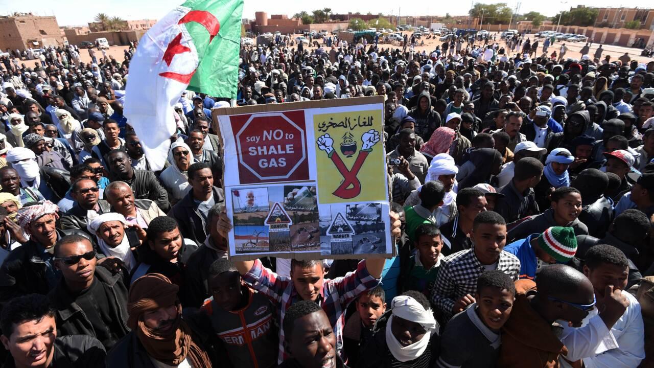 L'Algérie veut reprendre l'exploration du gaz de schiste