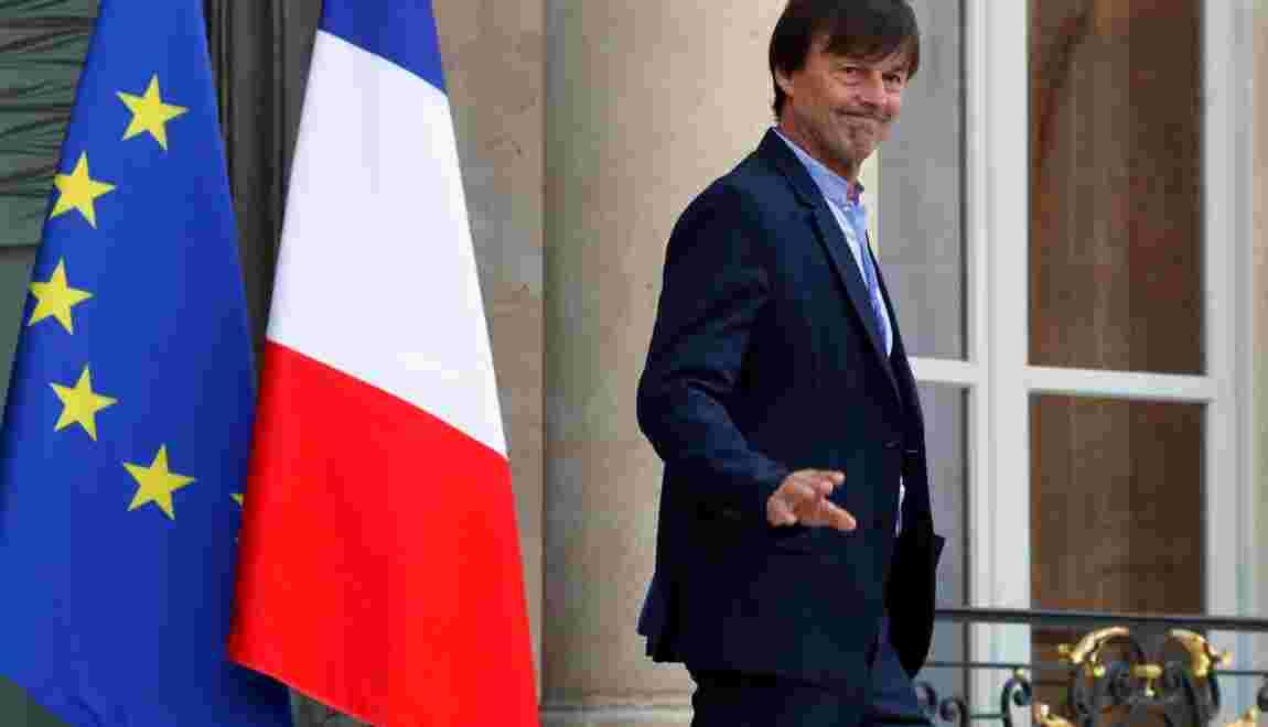 """Nicolas Hulot sur le glyphosate: """"Je ne recule jamais"""""""
