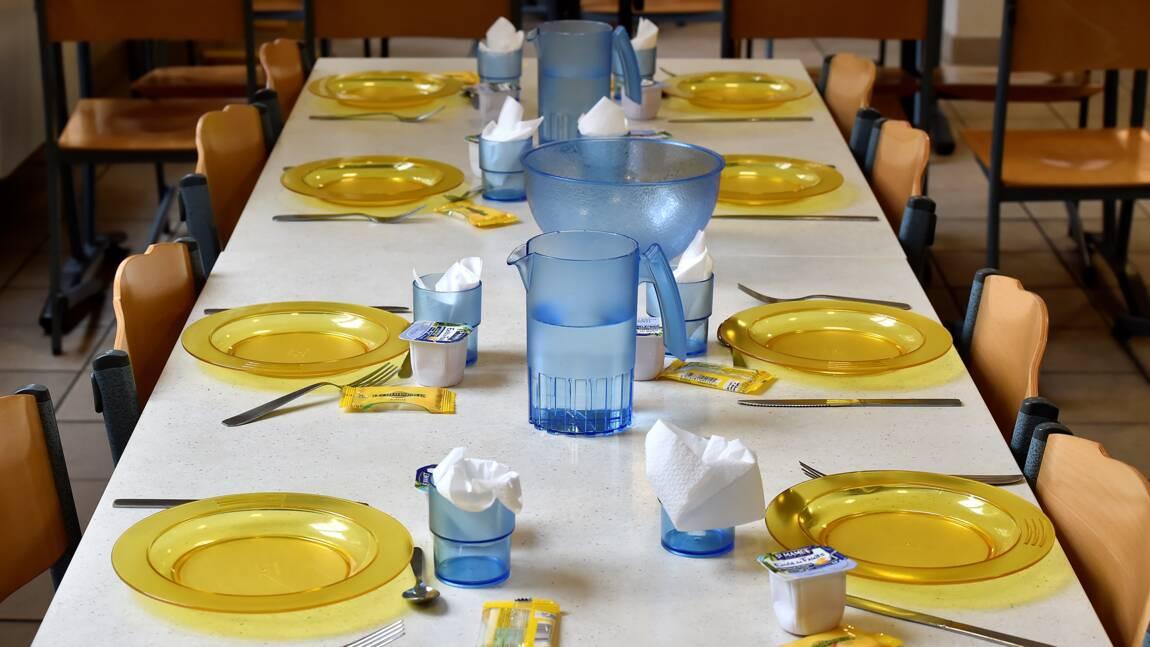 Bataille d'assiettes en plastique dans les cantines bordelaises