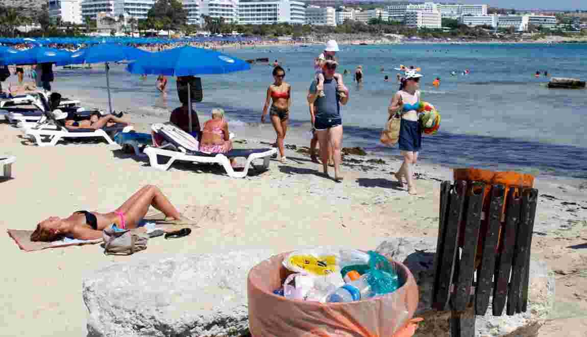 Prisée des touristes, Chypre lutte pour réduire ses déchets