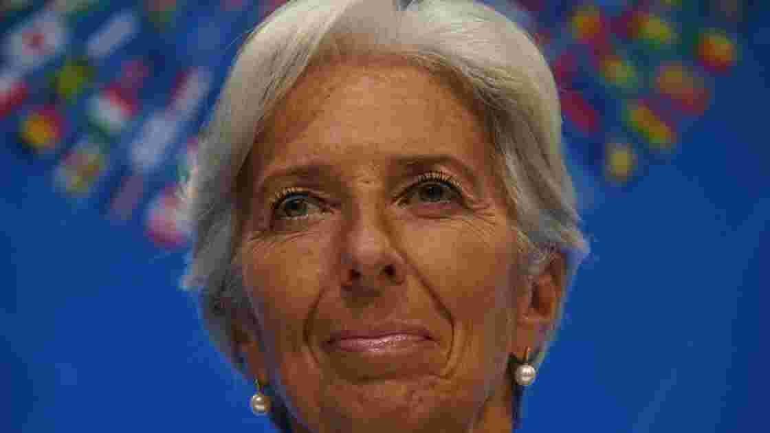 Christine Lagarde appelle à l'action sur le climat et les inégalités