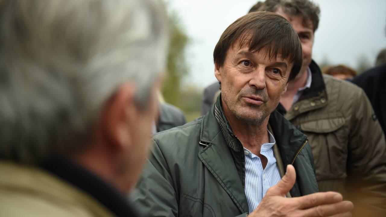 """Glyphosate: Nicolas Hulot promet """"d'associer le monde agricole"""""""