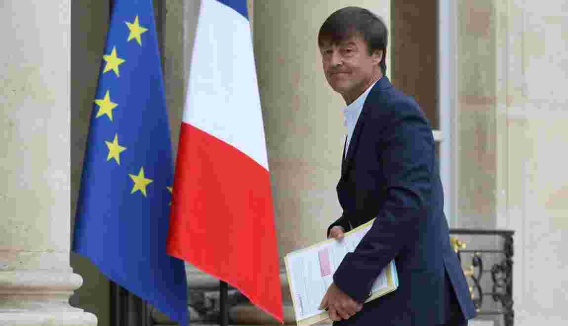 """Glyphosate: Hulot """"fier"""" que la France """"tienne bon"""" à Bruxelles"""