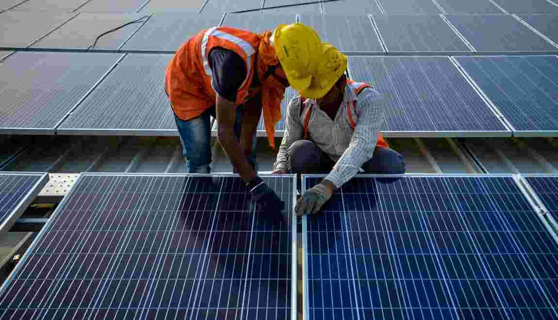 Électricité pour tous et gaz plus propre: le scénario vert de l'AIE