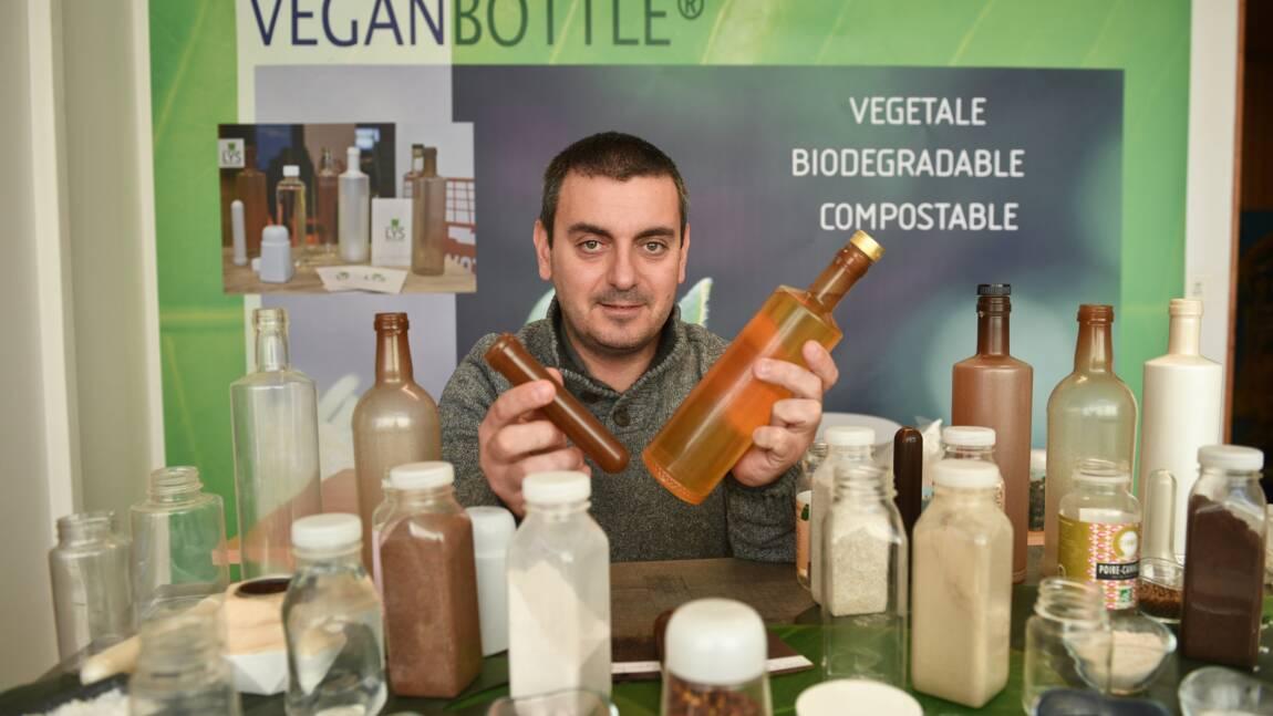 Charente-Maritime: des bouteilles 100% végétales à partir de déchets