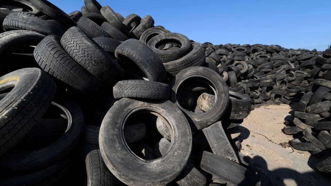 Fin d'une mission de 9 ans pour éliminer les vieilles décharges de pneus