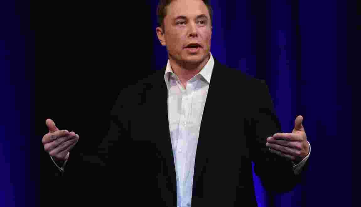 Le patron de SpaceX, Elon Musk, veut envoyer sa Tesla décapotable dans l'espace