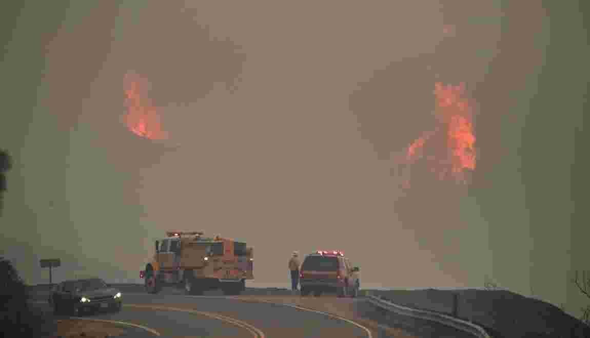 Californie: les incendies dévastateurs restent hors de contrôle