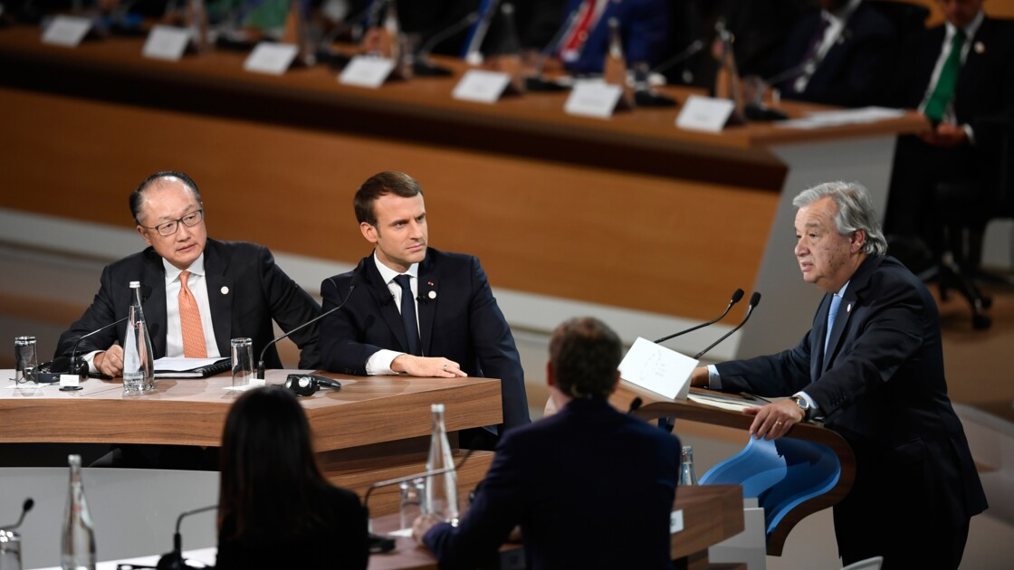 """Au sommet de Paris, banques et entreprises dans la """"bataille"""" du climat"""