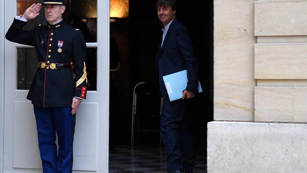 """Etats généraux de l'alimentation: Hulot """"100% en phase"""" avec Edouard Philippe"""