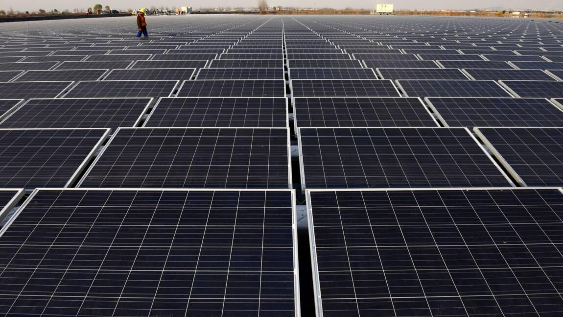 Energies renouvelables: le boom du solaire chinois fait flamber les investissements en 2017