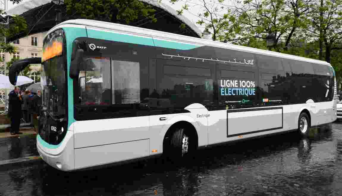 L'Ile-de-France se lance résolument dans le bus électrique