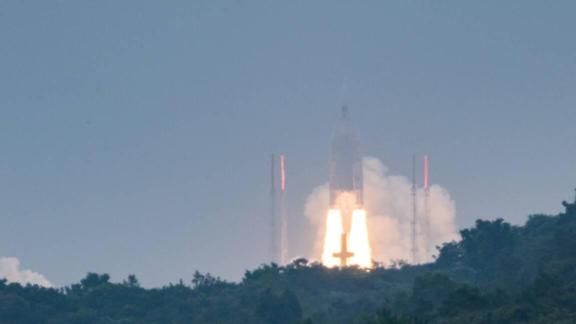 Ariane 5: les deux satellites mis en orbite mais pas au bon endroit