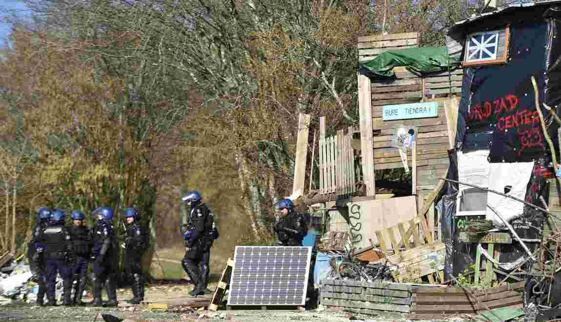 Bure: évacuation en force des opposants à l'enfouissement des déchets nucléaires