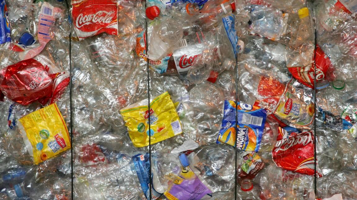 Plastique: Londres favorable à un système de consigne des bouteilles