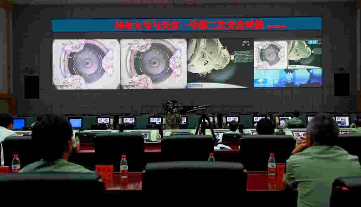 """La Chine prédit une chute """"splendide"""" de sa station spatiale"""