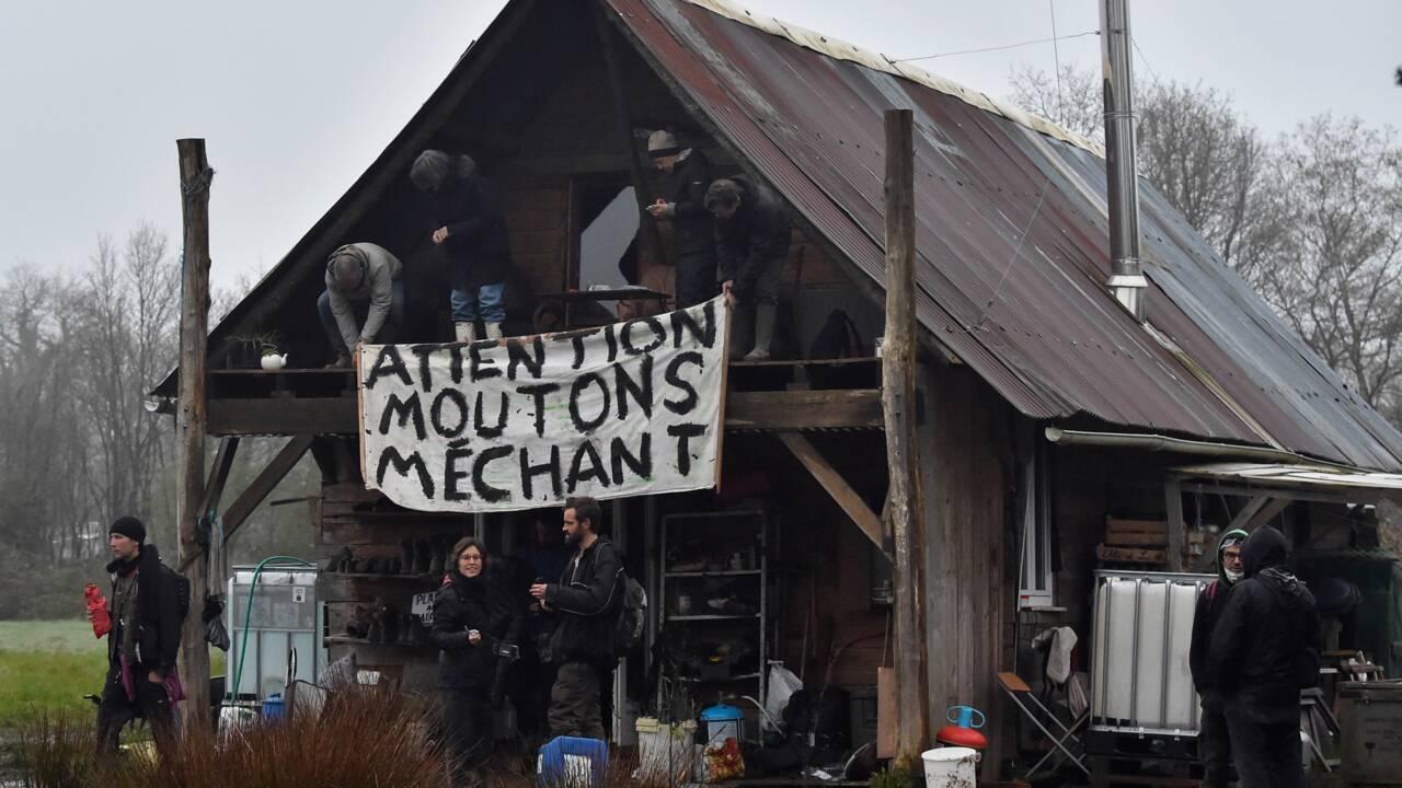 Notre-Dame-des-Landes : évacuation en cours