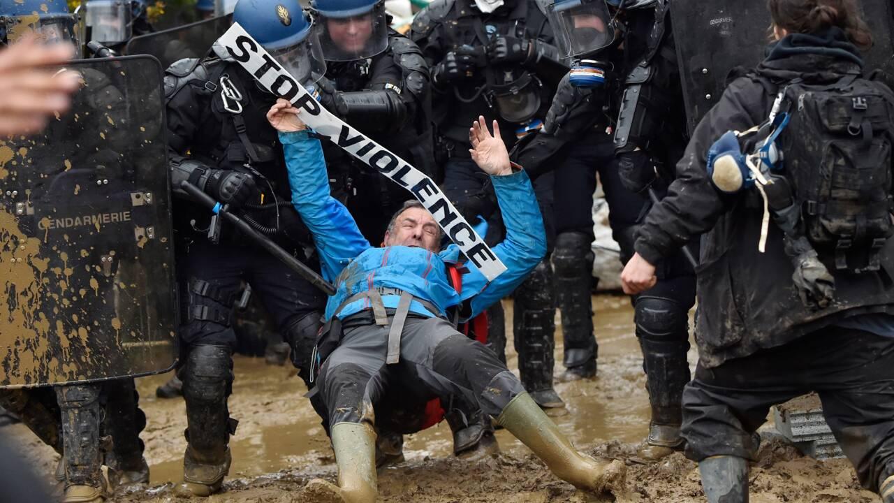 Notre-Dame-des-Landes: affrontements lors de l'opération d'expulsions