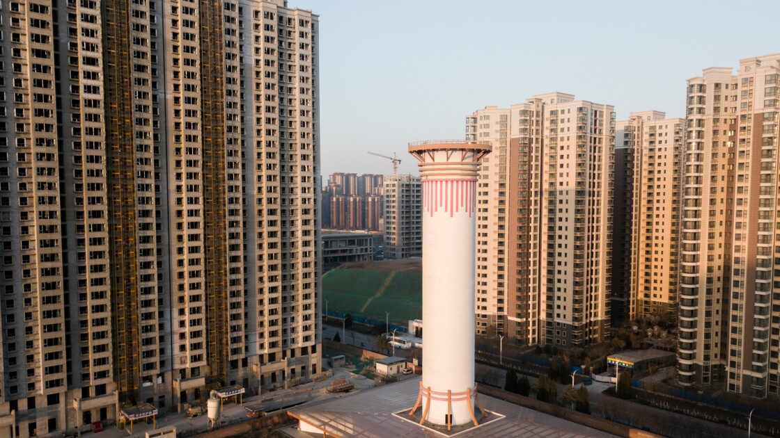 Chine : une cheminée à air pur tente de nettoyer l'atmosphère