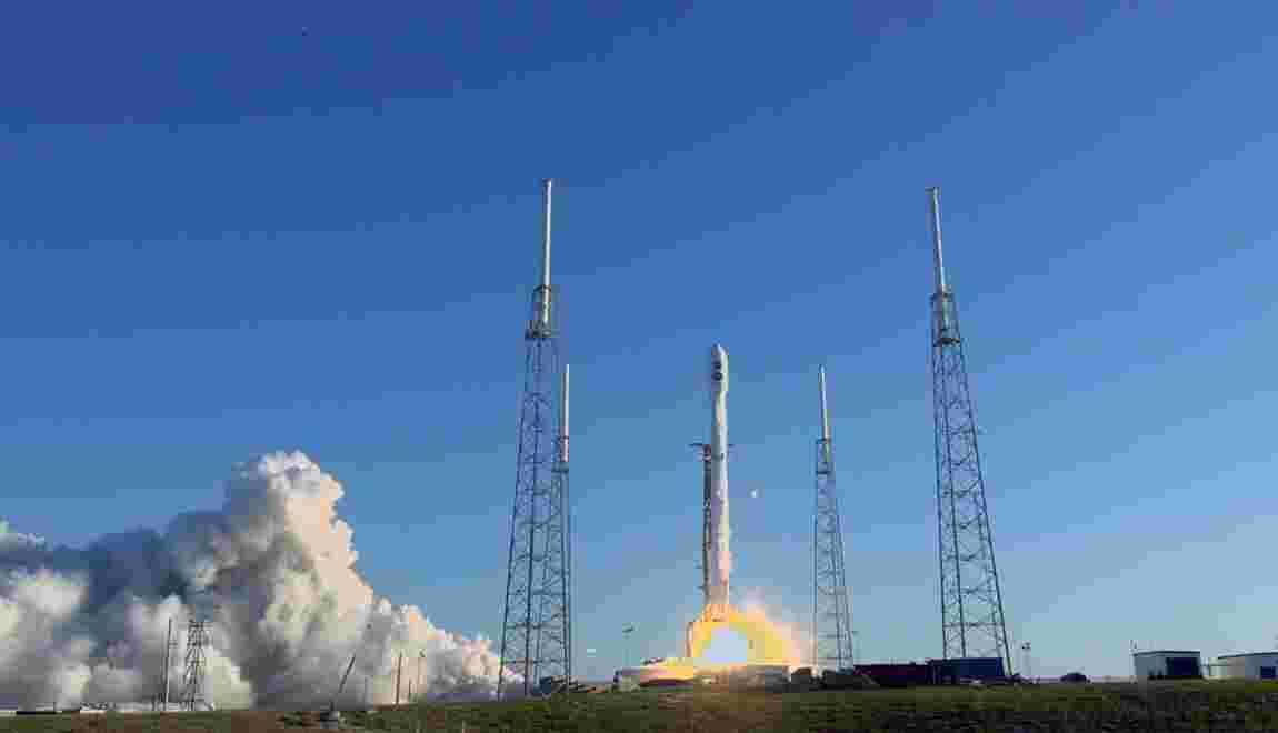SpaceX reporte le tir de sa fusée Falcon 9 nouvelle génération