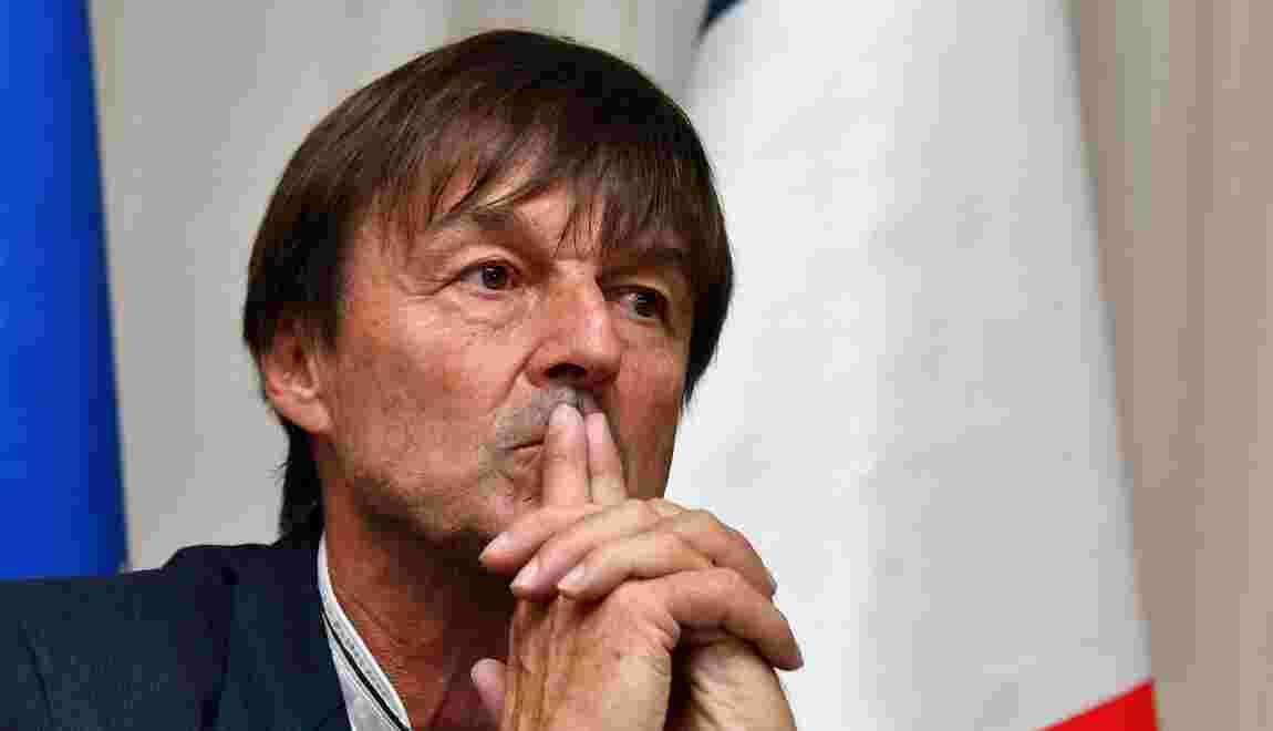 "Perturbateurs endocriniens: la France restera ""ferme"", assure Hulot"