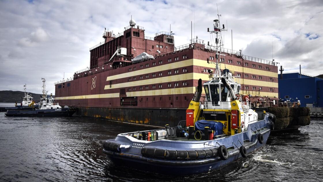 Russie: une première centrale nucléaire flottante pour alimenter l'Arctique