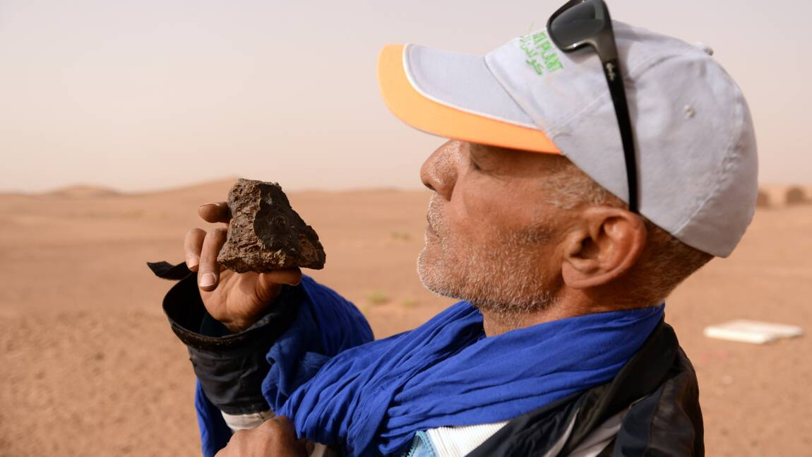 Dans le sud du Maroc, les météorites suscitent les convoitises