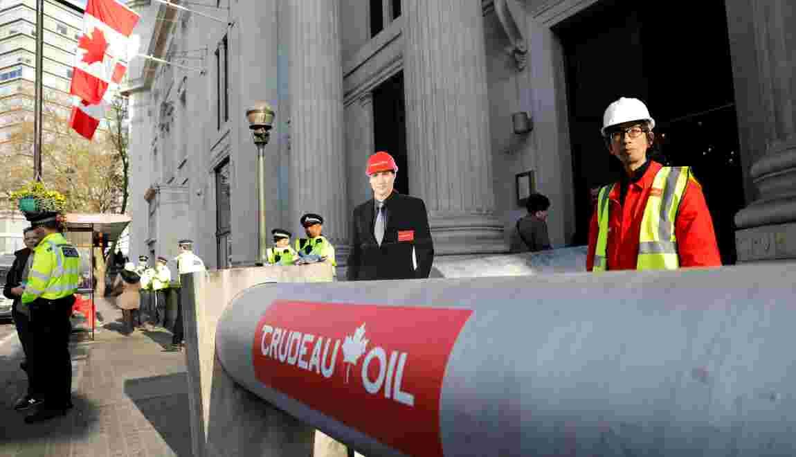 Le Canada nationalise un oléoduc controversé pour l'agrandir