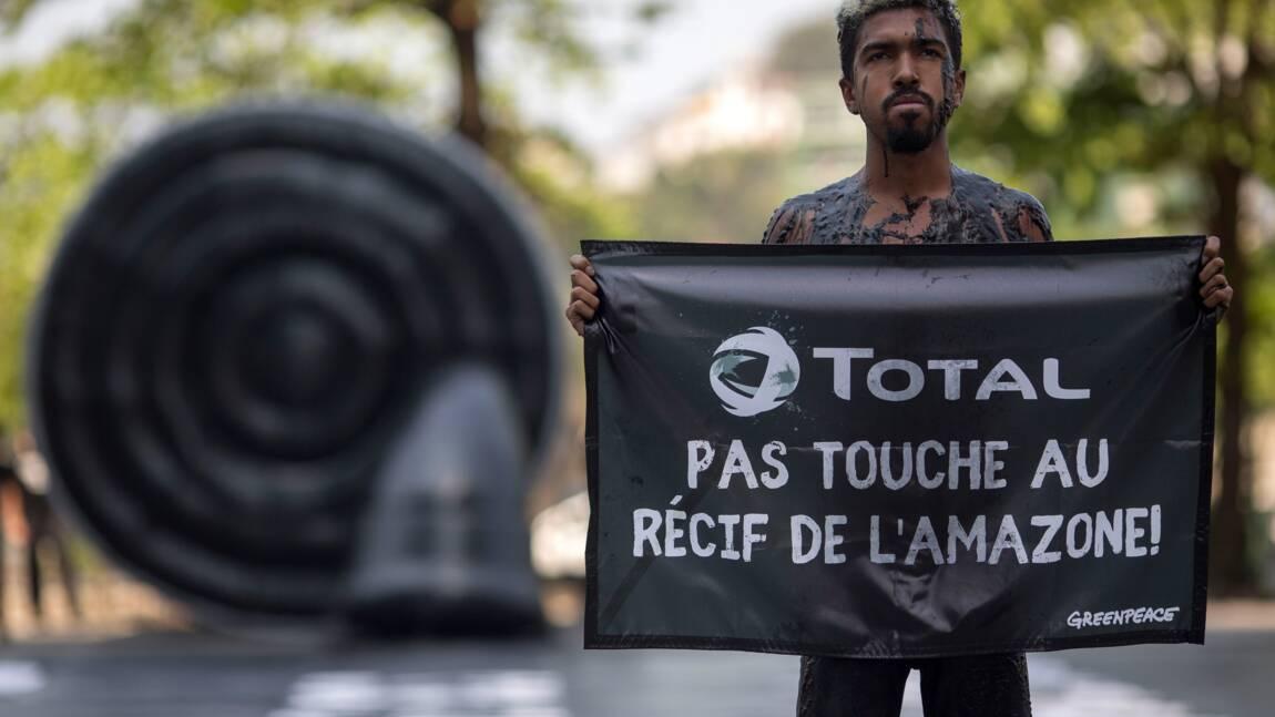 Le récif de l'Amazone s'étend dans des concessions de Total, selon Greenpeace