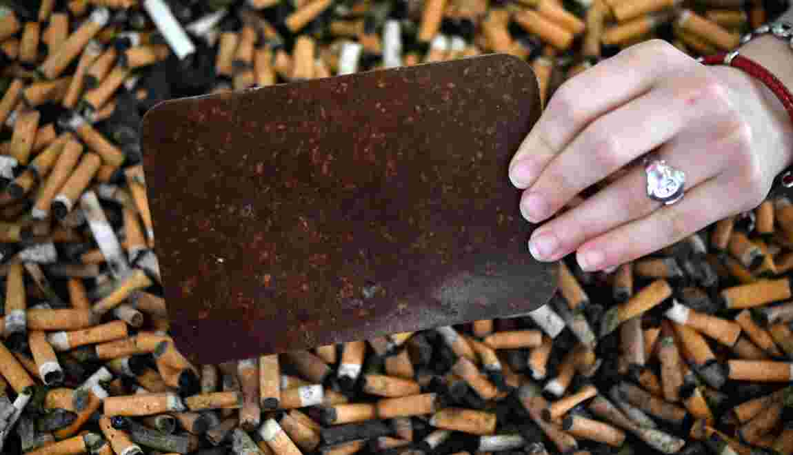De déchets toxiques à mobilier : les mégots désormais recyclés
