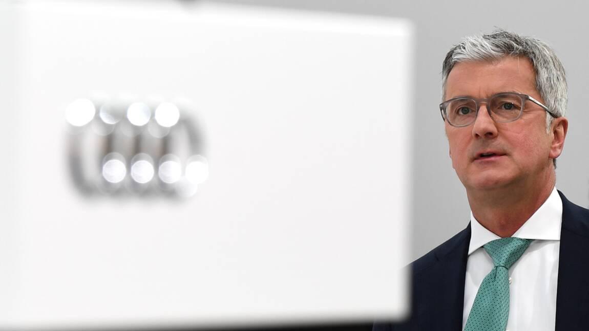 Dieselgate: l'ex-patron d'Audi renvoyé devant la justice allemande