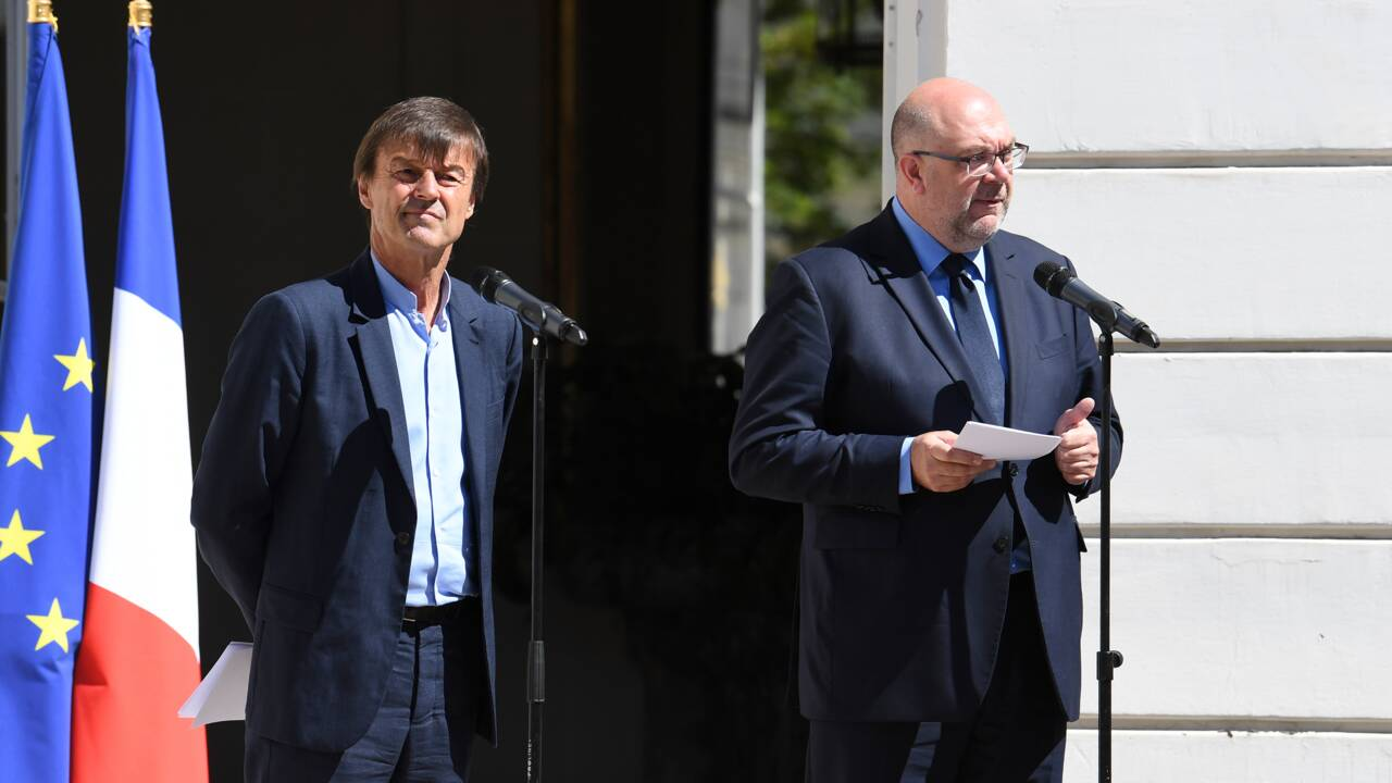 """Travert et Hulot créent une """"task force"""" pour sortir du glyphosate en 3 ans"""