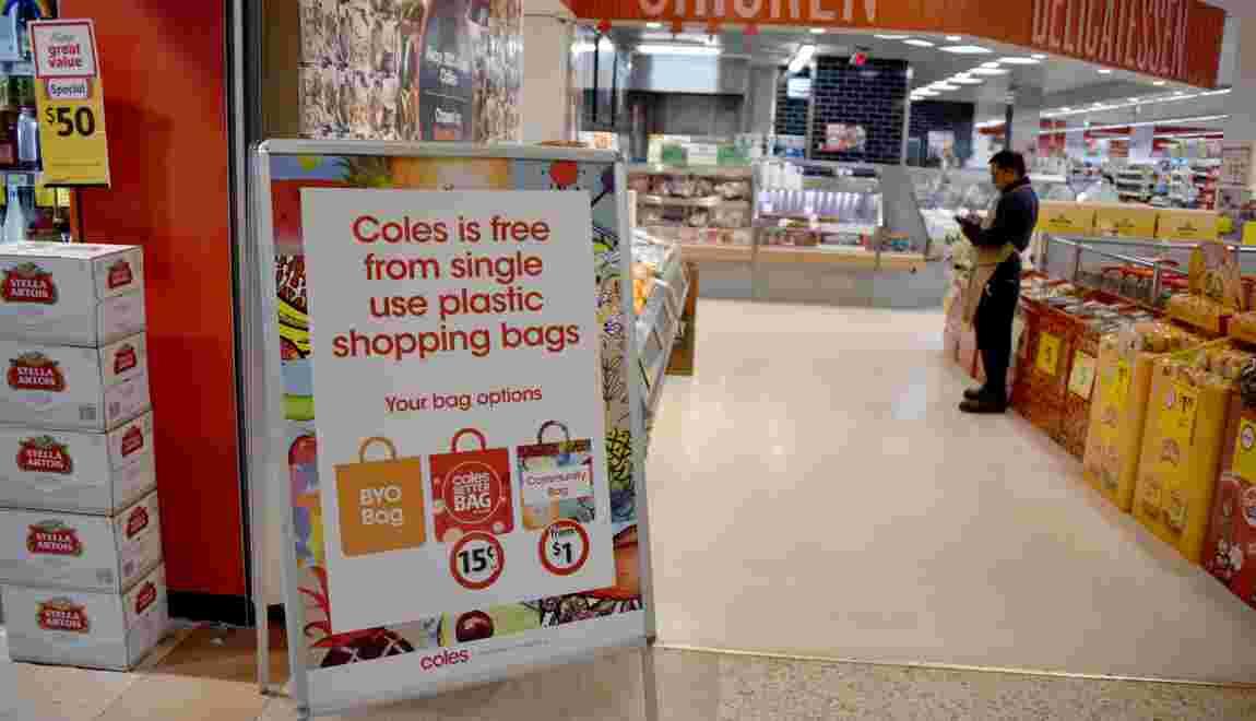 En Australie, l'interdiction des sacs en plastique passe mal
