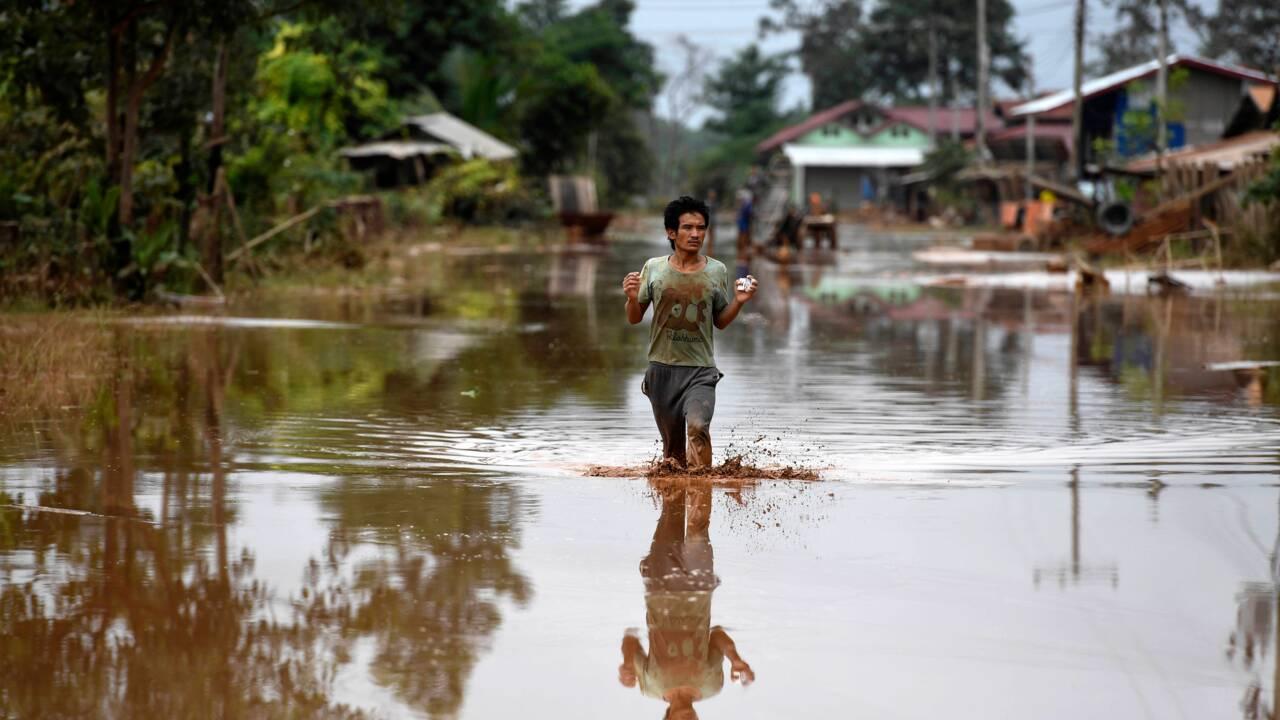 Barrage effondré au Laos: toujours des milliers de déplacés un an après (rapport)