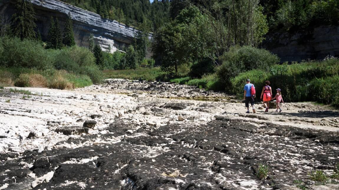 Sécheresse : en Franche-Comté, la disparition du Doubs