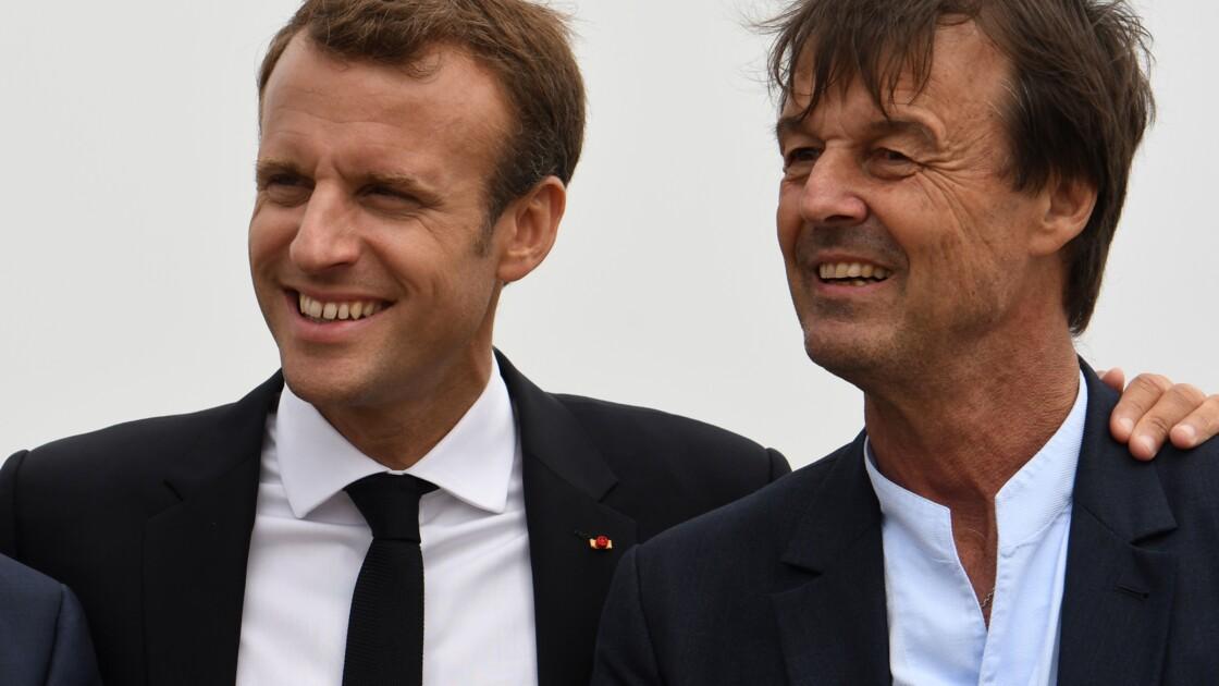 """Ceta: """"Il fallait le dire quand on était en responsabilité"""", réplique Macron à Hulot"""